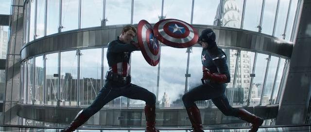 Avengers Endgame Captain America vs Captain America Fight