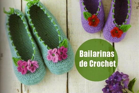 Bailarinas Zapatillas de Crochet Tutorial