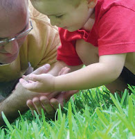 NAMC parent communication for montessori teachers sample newsletter looking at grass