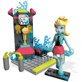 MH Aqua-Batic Diving Lagoona Blue Mega Blocks Figure