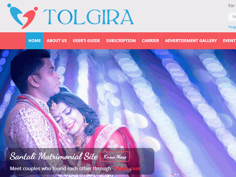 santali website Tolgira