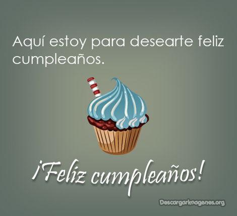 Feliz cumpleaños palabras para desearlo.
