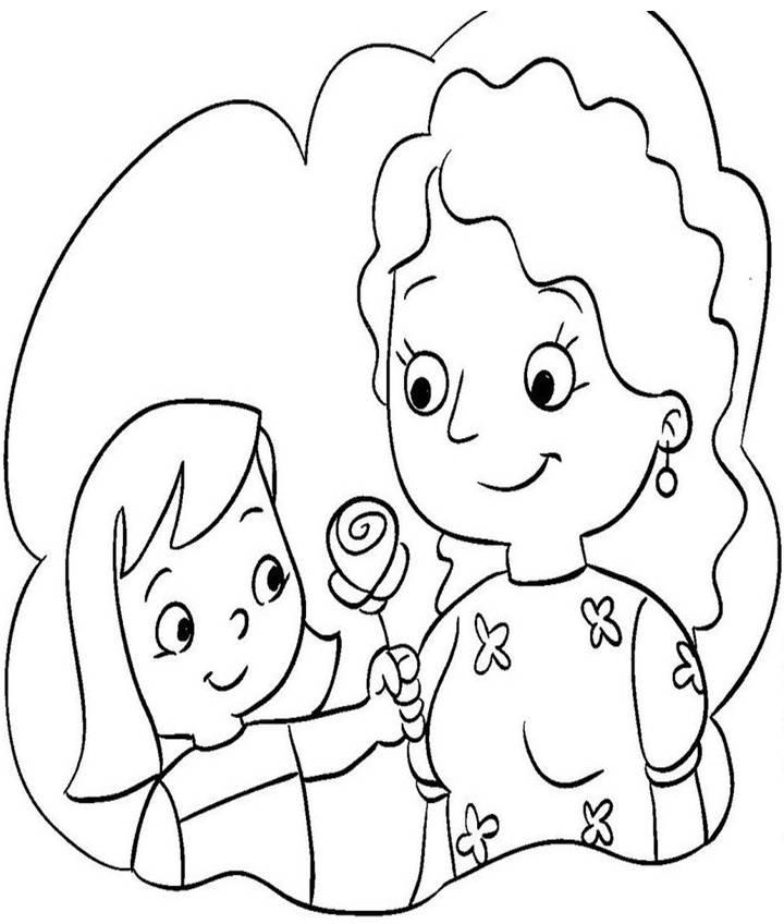 Rayito de Colores Dibujos Da de la Madre