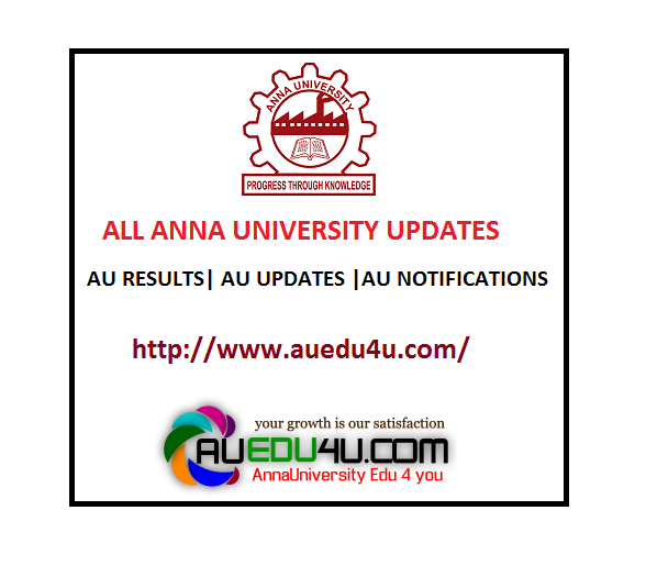 Anna university revaluation results 2016 Nov Dec Jan 2017 for 1st 3rd ...