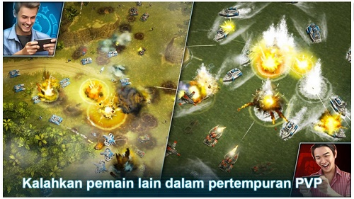 game strategi perang android gratis