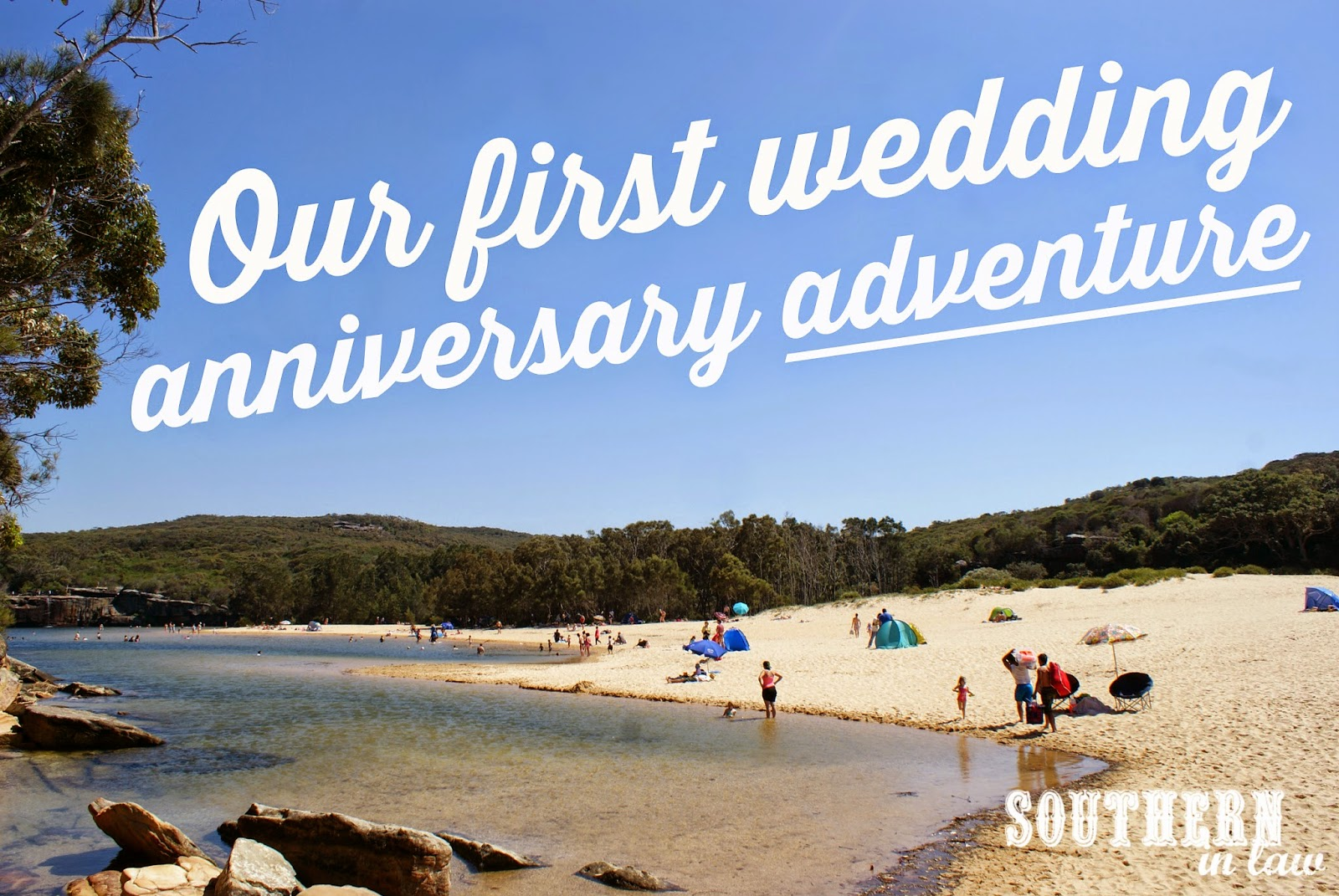 Our First Wedding Anniversary Date Day at the Royal National Park, NSW