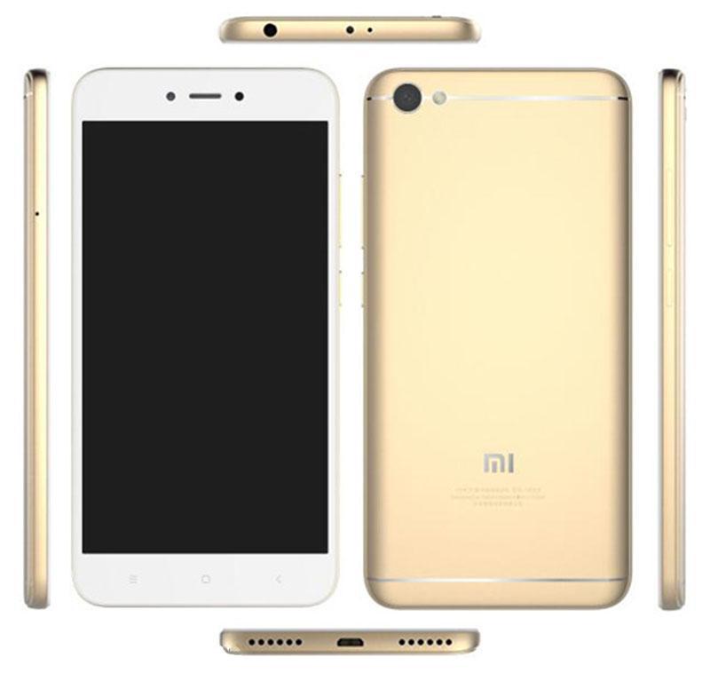 تسريب صورة ومواصفات وسعر هاتف شاومى الجديد Xiaomi Redmi Note 5A