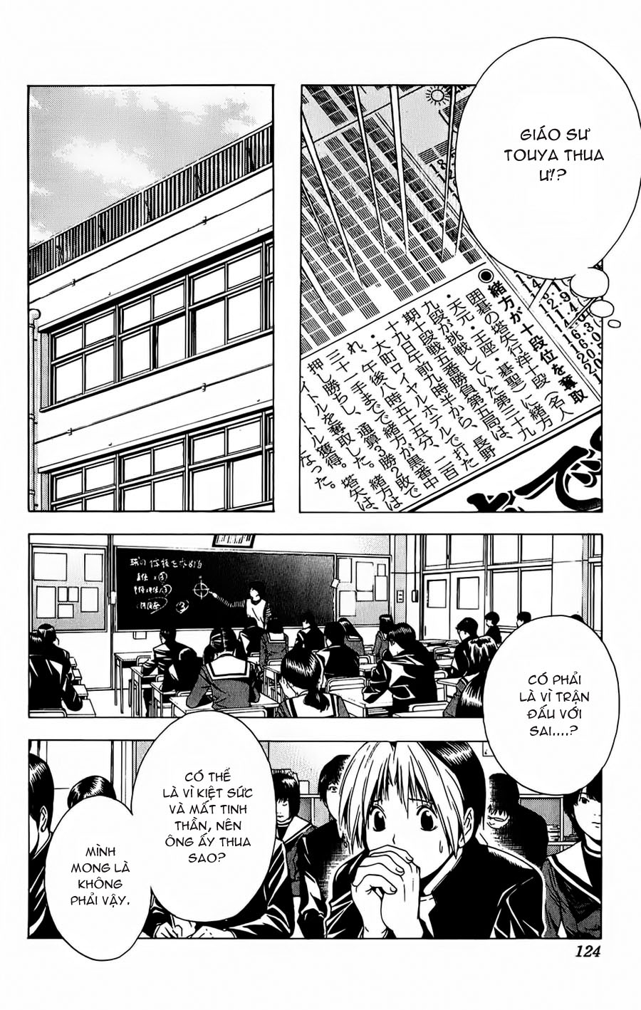Hikaru No Go hikaru no go chap 119 trang 10