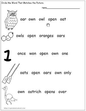 Phonics with Jc: Worksheets on phonics