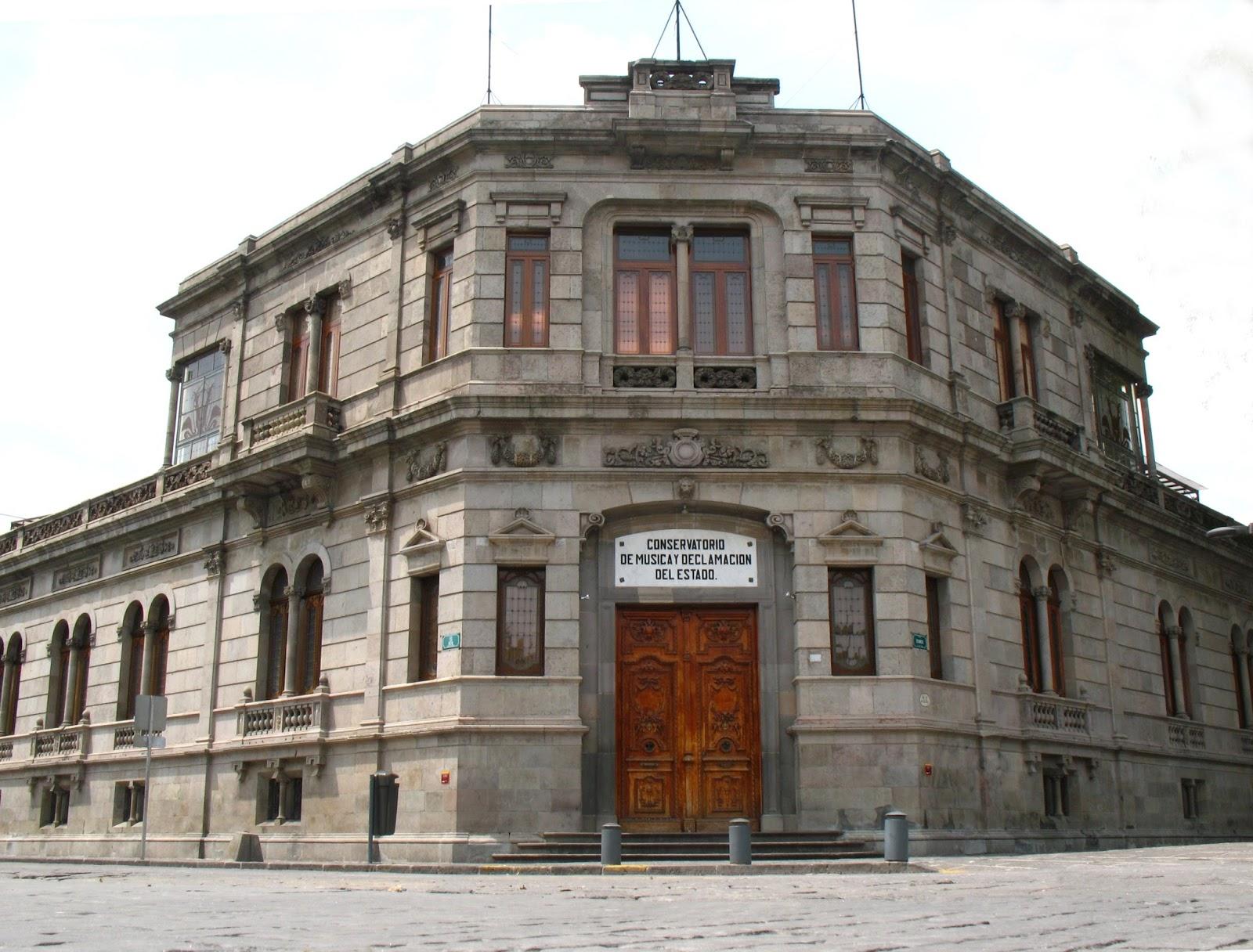 Puebla colonial noviembre 2016 for Conservatorio de musica