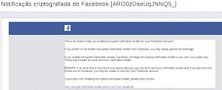 Confirmando a ativação da criptografia nos E-mails