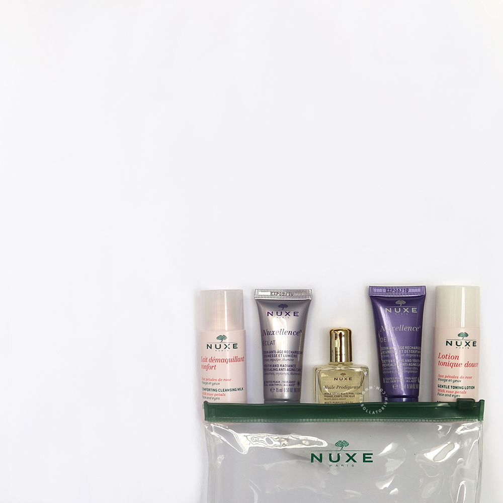 Nuxe Travel Kit Skin Care Essentials