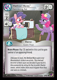 My Little Pony Method Mares, Convincing Act Marks in Time CCG Card