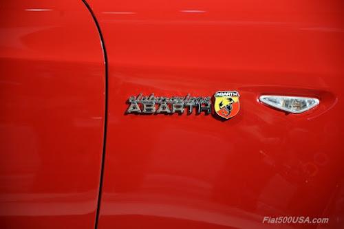Fiat 124 Spider Elaborazione Abarth Emblem