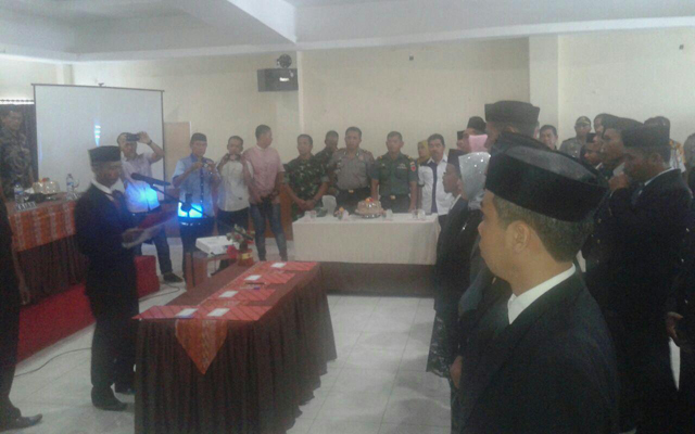 24 Anggota Panwascam di Soppeng Resmi Dilantik