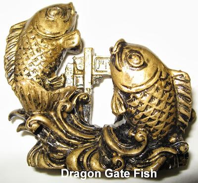 Dragon Gate Fish, Feng Shui Fish, Feng Shui Gold Fish