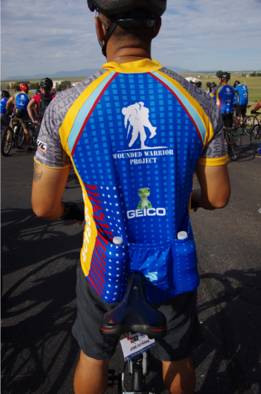 The Wounded Soldier Project jersey. Every rider wears one. 467d8d873
