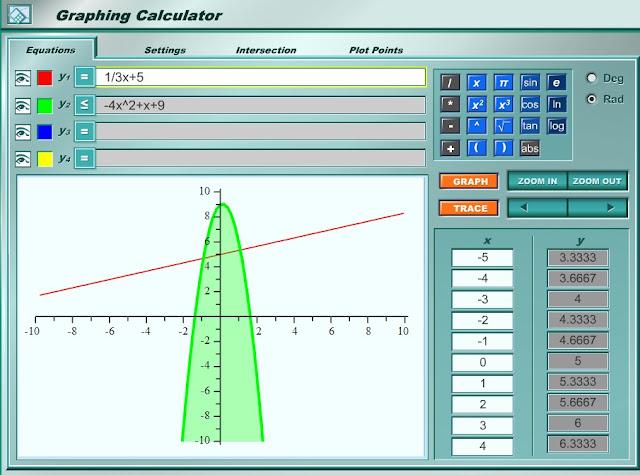 rockyroer online graphing calculator