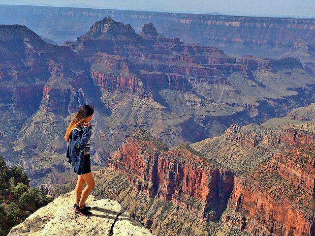 Grand Canyon North Rim, Vivian Lee, Miss Happy Feet