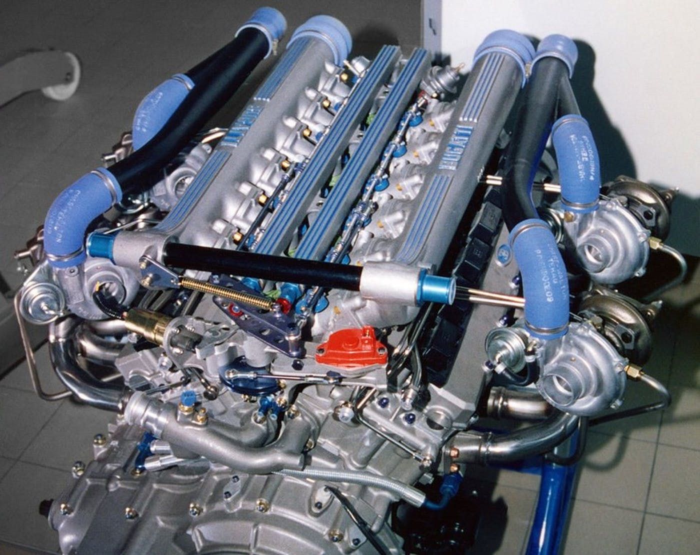 Production Vehicles With A Quad Turbo Configuration Car Guys Paradise Bugatti Veyron W16 Engine Diagram The Was First Which Entirely Designed Developed And Manufactured Under Ownership Of Volkswagen Group