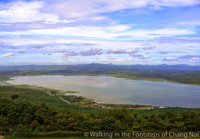 Lam Tha Khong lake near Muak Lek, Thailand