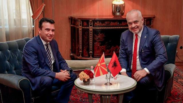 Ζάεφ-Ράμα στα Τίρανα: Τι είπε για τις Πρέσπες ο Αλβανός πρωθυπουργός