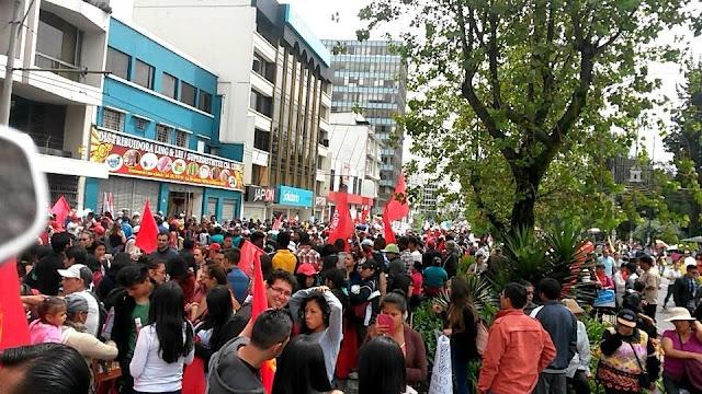 marchas del primero de mayo