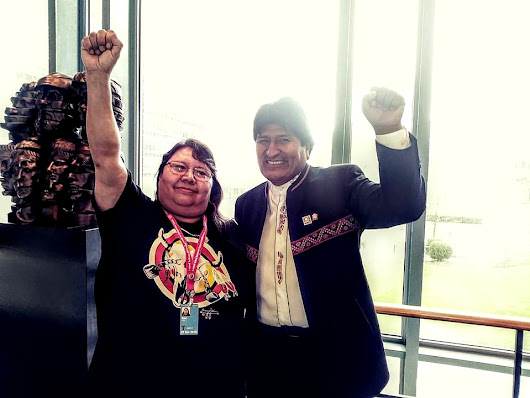 Lakota Jean Roach Appeals for Justice for Leonard Peltier at UN Permanent Forum on Indigenous Issues