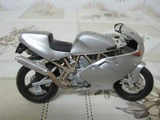 Moto miniatura
