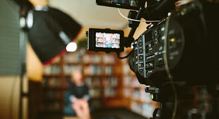Set of corporate video production in Johannesburg