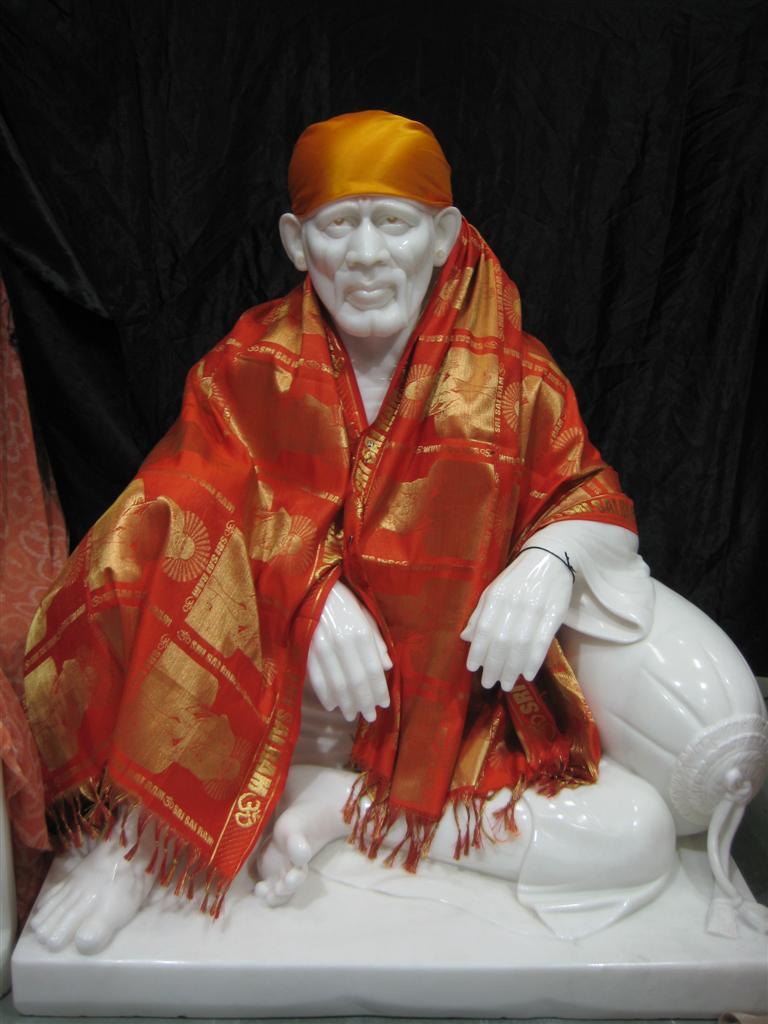 Marble Sai Baba Statues for temples | Sai Baba Of Shirdi ...