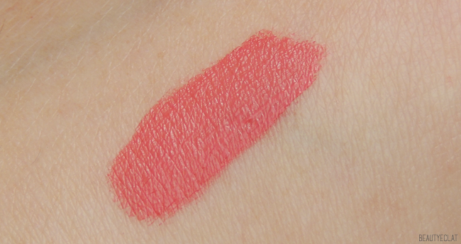 revue avis test swatch bourjois rouge laque majespink majes'pink