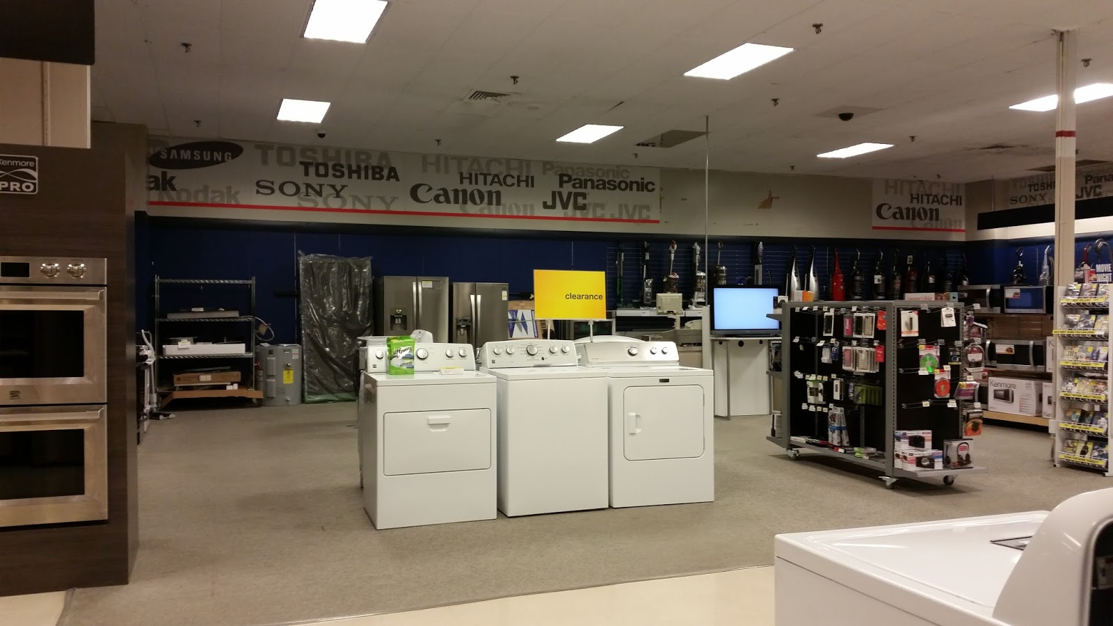 The Former Electronics Department Was Filled With Odds And Ends. A Small  Selection Of Electronics Still Remained, But Was Later Moved A Few Feet  Over Into ...