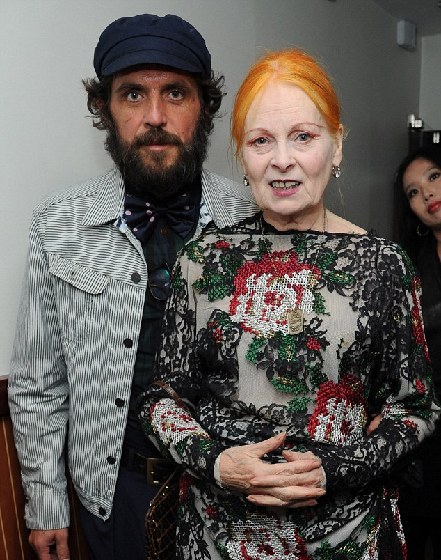 Vivienne Westwood reveals she bathes once a week and her husband,once a month