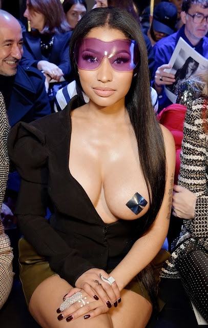 Nicki Minaj en la Paris Fashion Week 2017