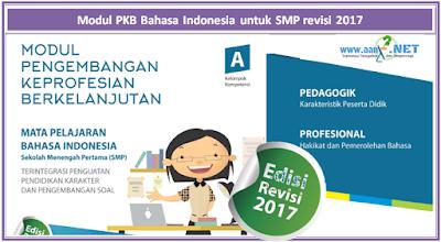 Modul PKB Bahasa Indonesia untuk SMP revisi 2017 aan88.NET