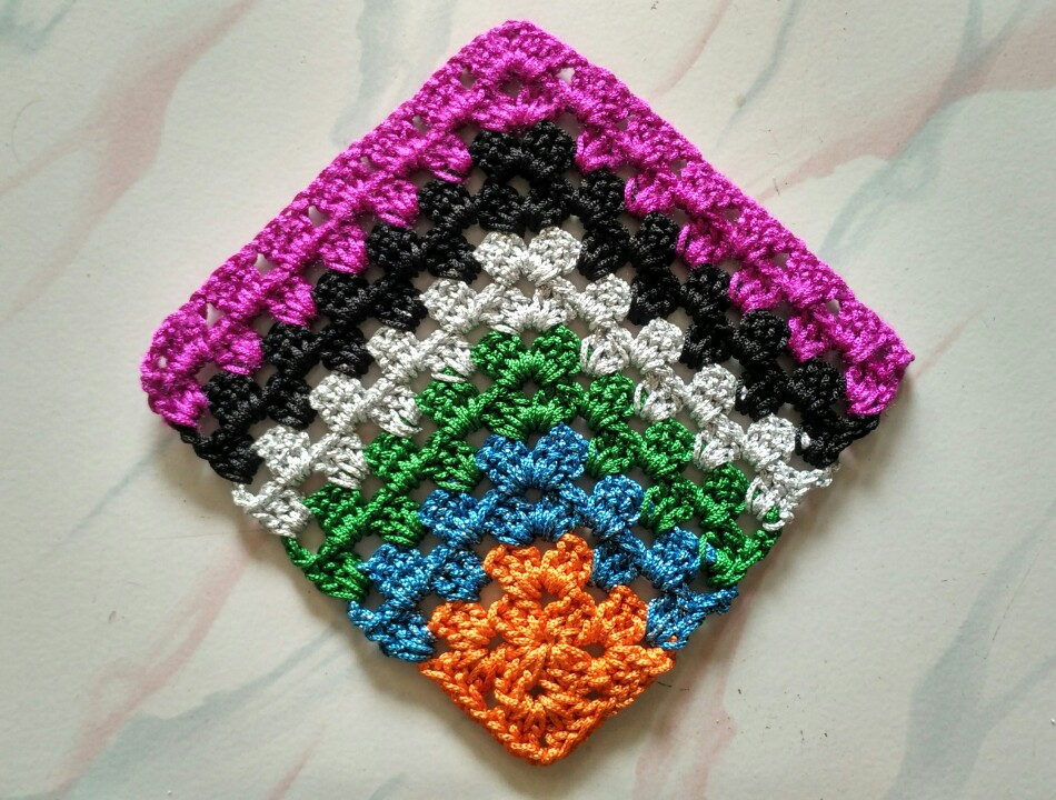Crochet Colors Joining