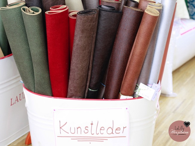 Kunstleder ist ein tolles material für Mappen, Portemonnaies, Taschen und Co