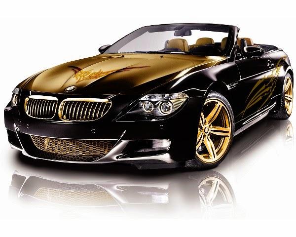 Foto Modifikasi Mobil BMW Gold