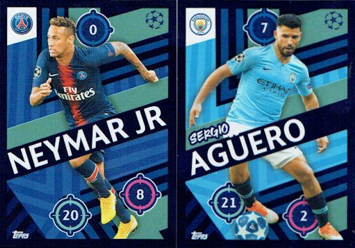 Sticker 499 Luisao Topps Champions League 18//19
