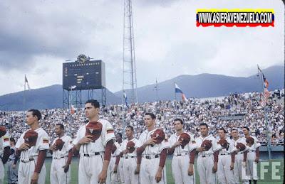 Día de la inauguración dle Estadio Universitario de Caracas