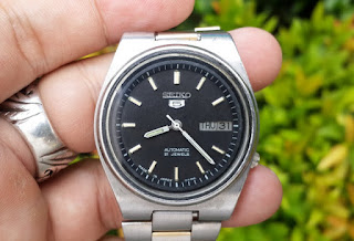 Seiko 5 7009-3171 Vintage Automatic Japan Day Date Watch