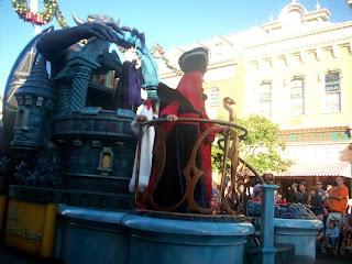 Disney Villains Parade Float