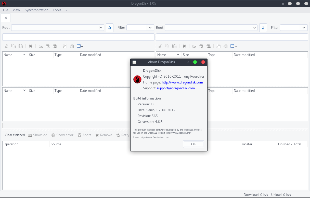 Dragon Disk, free Amazon S3 Management and Sync tool