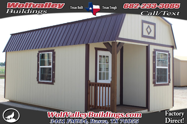 Deluxe Lofted Cabin Shell 12x24 Hunting Cabin/ Large Storage Shed/ Portable Building. ULTRA HIGH QUALITY Tiny Home!! & Wolfvalley Buildings Storage Shed Blog.: Deluxe Lofted Cabin Shell ...