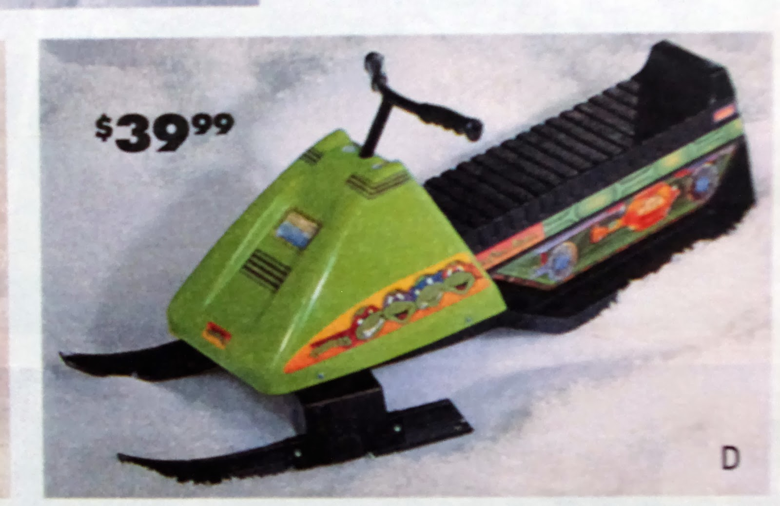 Sears Wishbook 1992: Turtle Power Edition - Crooked Ninja