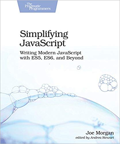Simplifying JavaScript front cover