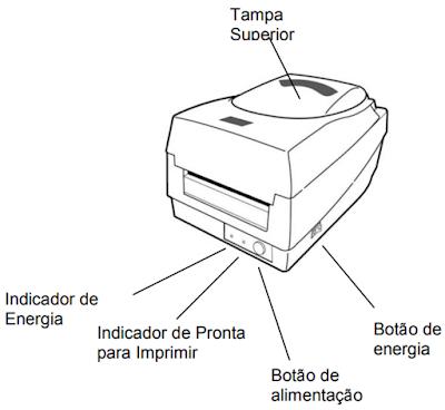 Impressora de Etiquetas OS-2140