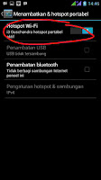 hotspot WiFi android