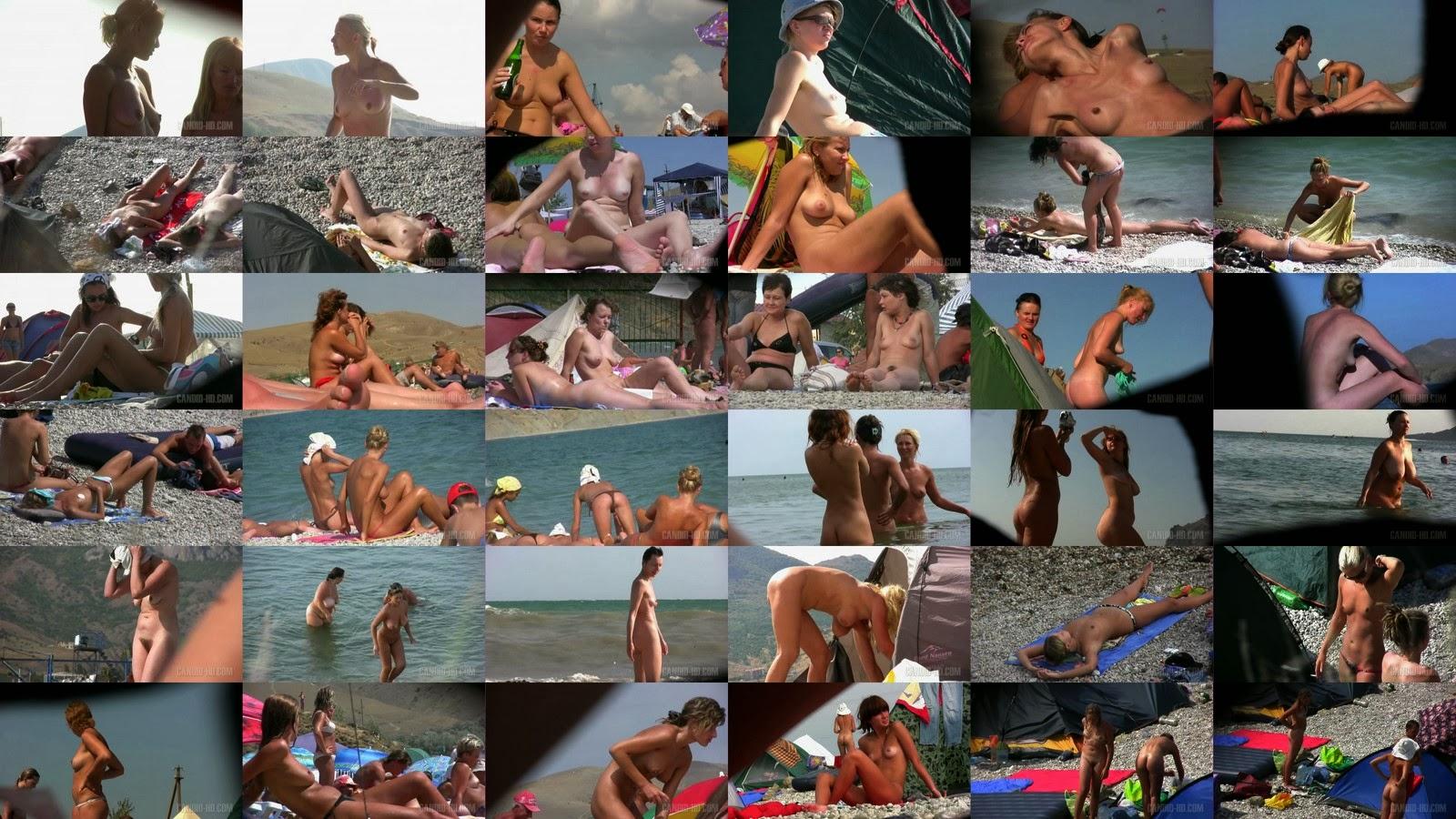 Голые пляжи Крыма / Crimea Nude Beaches. Part-4.